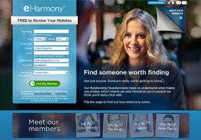 eHarmony Website