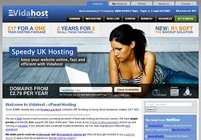Vidahost Web Hosting and Domains