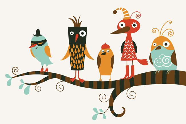 personality test - birds