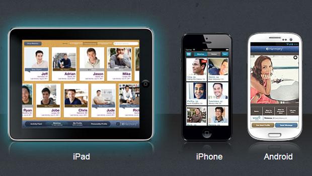 eHarmony app mobile uk