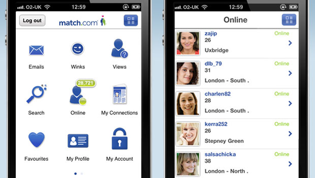Gratis online dating app for Android