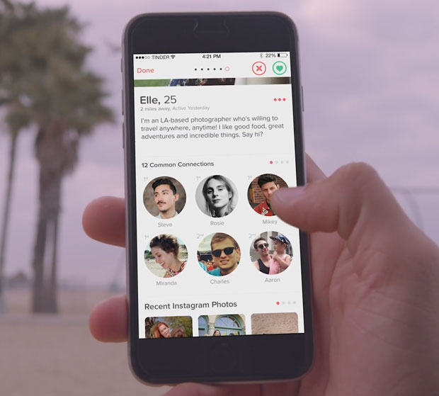 tinder review - screenshot